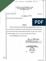 Holden v. Rick Preston's Oil Field Service - Document No. 2