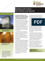 Cross Laminated Timber Fact Sheet