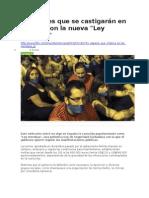 BBC Mundo - 5 Acciones Que Se Castigarán en España Con La Nueva Ley Mordaza - 01 07 15