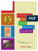 Engaging Students with Primary Sources