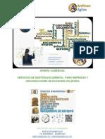 Propuesta Gestión Documental Organizaciones de Economia Solidaria