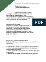 Objetivo de Estudio 2 Administración Estratégica