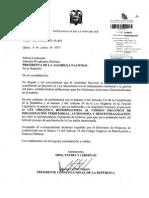 (549503162) Proyecto de Ley Orgánica Reformatoria Al Código Orgánico de Organización Territorial, Autonomía y Descentralización Tr. 215828 (1)