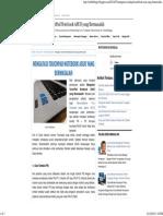 Mengatasi TouchPad Notebook ASUS Yang Bermasalah