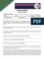 Examenes 4to Bloque Español