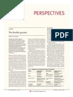 Greenspan - The Flexible Genoma - 2001