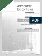 Administrar los Conflictos