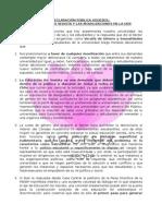 Declaración Vogesex Movilizaciones Udp