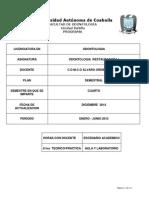 Programa de Odontologia Restauradora I en-JUN 2015
