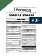 Normas Legales Del Dia Martes 23 de Junio Del 2015