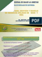 Evaluacion y Normatividad Residuos Solidos Eess y Sma -2014