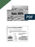 Ringkasan Penyusunan Renstra SKPD