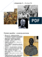 07 Rimska Ekspanzija 5. - 2. St. Pr. Kr
