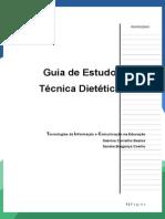 Guia de Estudos Técnica Dietética