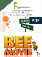Trabalho de Ingles Bee Movie