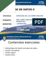 00-Base de Datos I - Diseños de BD - Metodología, Conceptual, Lógico y Físico (Muy Completo)