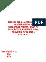 MANUAL DE CONSTRUCCIÓN Y OPERACIÓN DE RELLENO SANITARIO 26jun2014.pptx