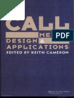CALL - Media, Design, & Applications [Keith Cameron]