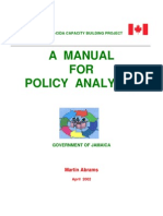 MANUAL-Policy Analysts_Martin Abrams