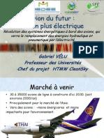 Avion Plus Electrique Gabriel Velu