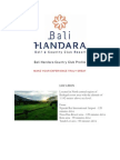 Bali Handara Country Club Profile