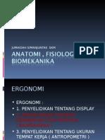 Anatomi , Fisiologi Dan Biomekanika