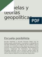 Escuelas y Teorías Geopolíticas