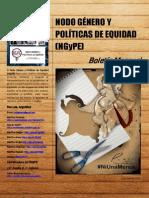 Boletín N° 15 Nodo Género y Políticas de Equidad