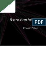 Generative Art Installation