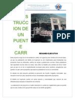 Resumen Ejecutivo y Antecedentes Proyecto Ing. Econ
