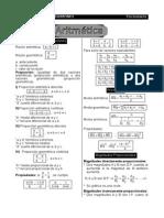 Mini Formulario Aritmética