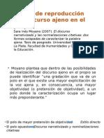 Modos de Reproducción Del Discurso Ajeno en El (1)