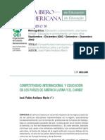 Revista Iberoamericana de Educación No. 30