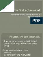 Trauma Trakeobronkial