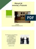 Manual Ceremonial y Protocolos MUY BUENO