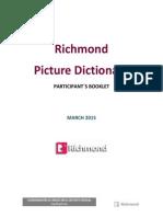 Cuadernillo Participante Picture Dictionary 2