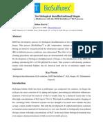 Biological Desulfurization the MBR