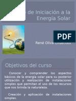 Curso de Iniciación a La Energía Solar
