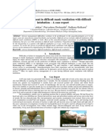 Airway management in difficult mask ventilation with difficult intubation – A case report