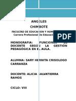 Monografia Gestion Educativa