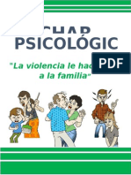 La Violencia Le Hace Daño a La Familia