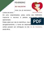 14 de FEVEREIRO