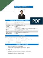 Curriculum Vitae Razif Husna Imananda