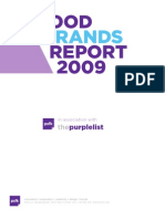 PSFK Good Brands Report 2009