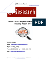 Global Laser Computer to Plate (CTP) Industry Report 2015