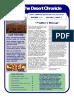 The Desert Chronicle Summer 2015