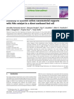 Durability of Different Carbon Nanomaterial Supports