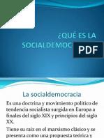 Qué Es La Socialdemocracia