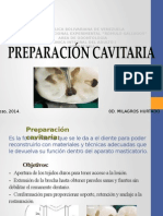 preparacion cavitaria