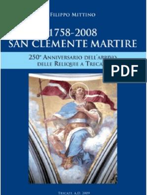Velocità datazione San Clemente